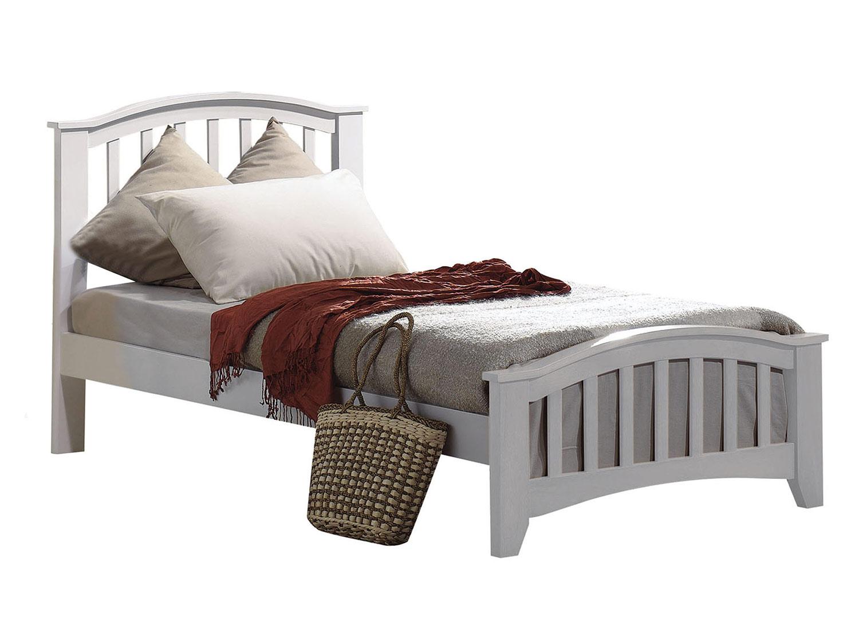 Acme San Marino Twin Bed - White