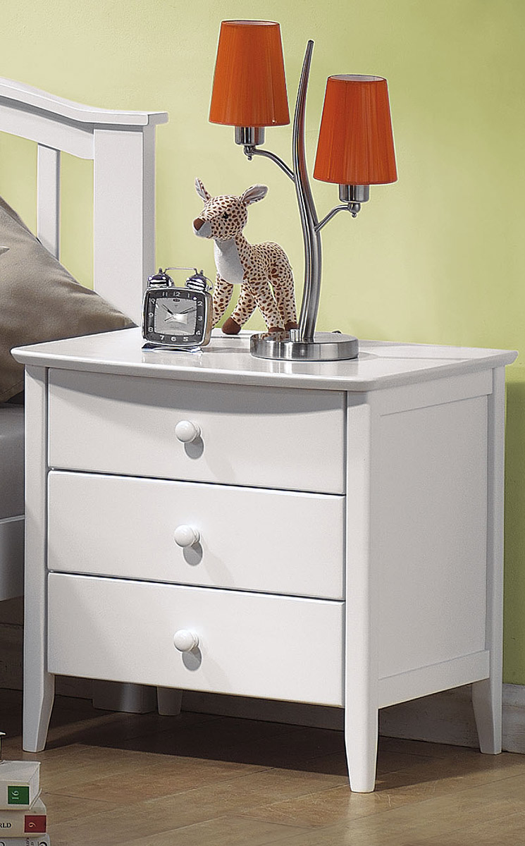 Acme San Marino Nightstand - White