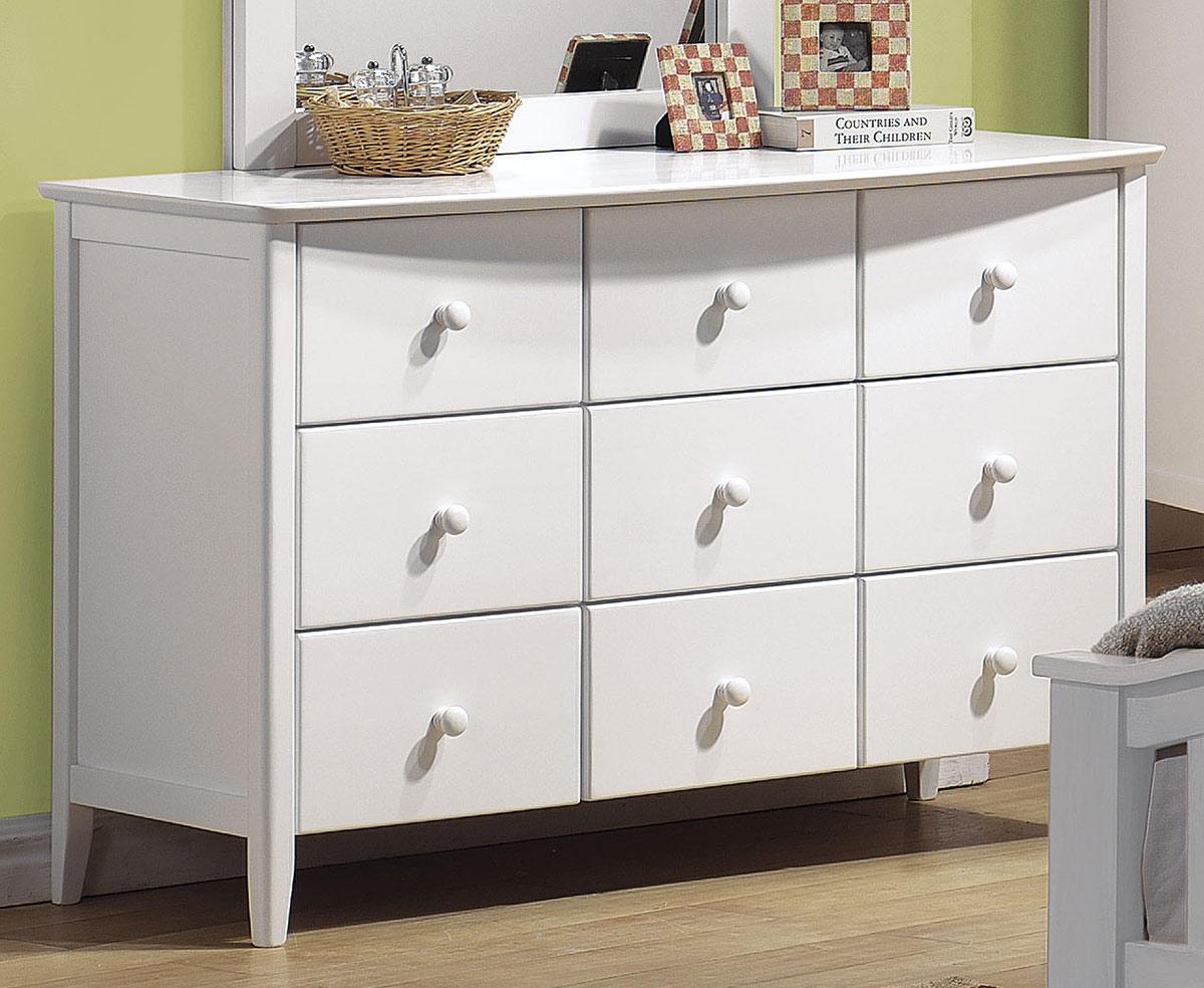 Acme San Marino Dresser - White