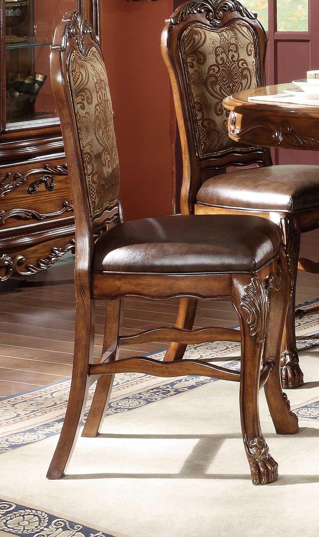Acme Dresden Counter Height Chair - Cherry Oak