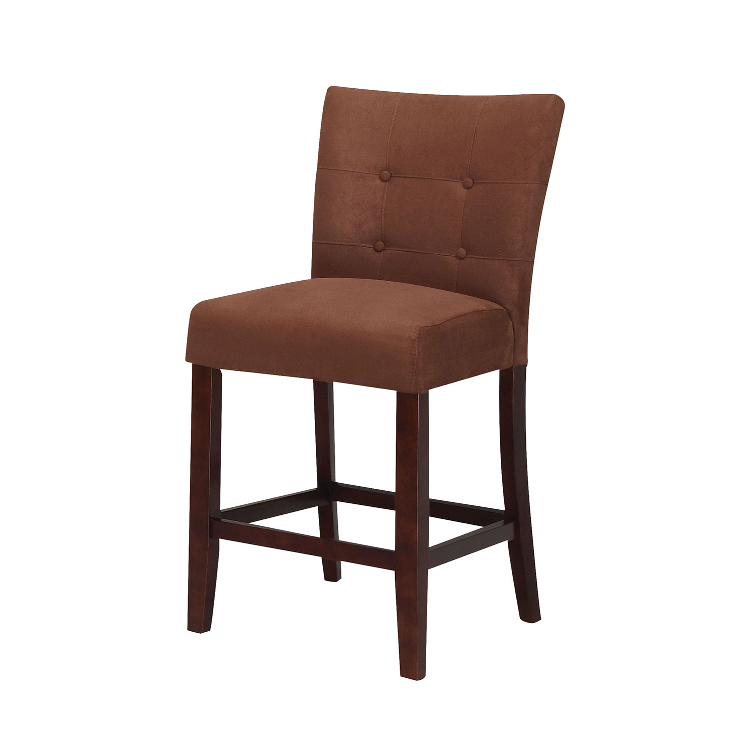 Acme Baldwin Counter Height Chair - Chocolate/Walnut