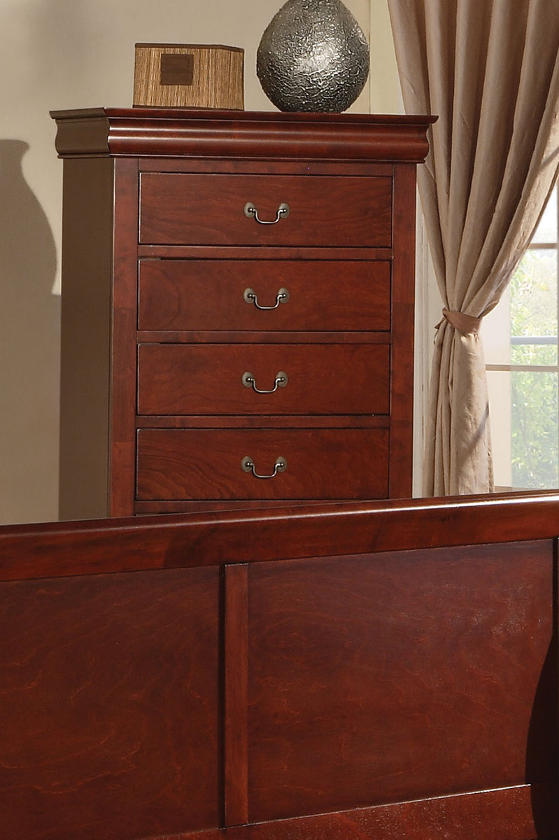 Acme Louis Philippe III Chest - Cherry