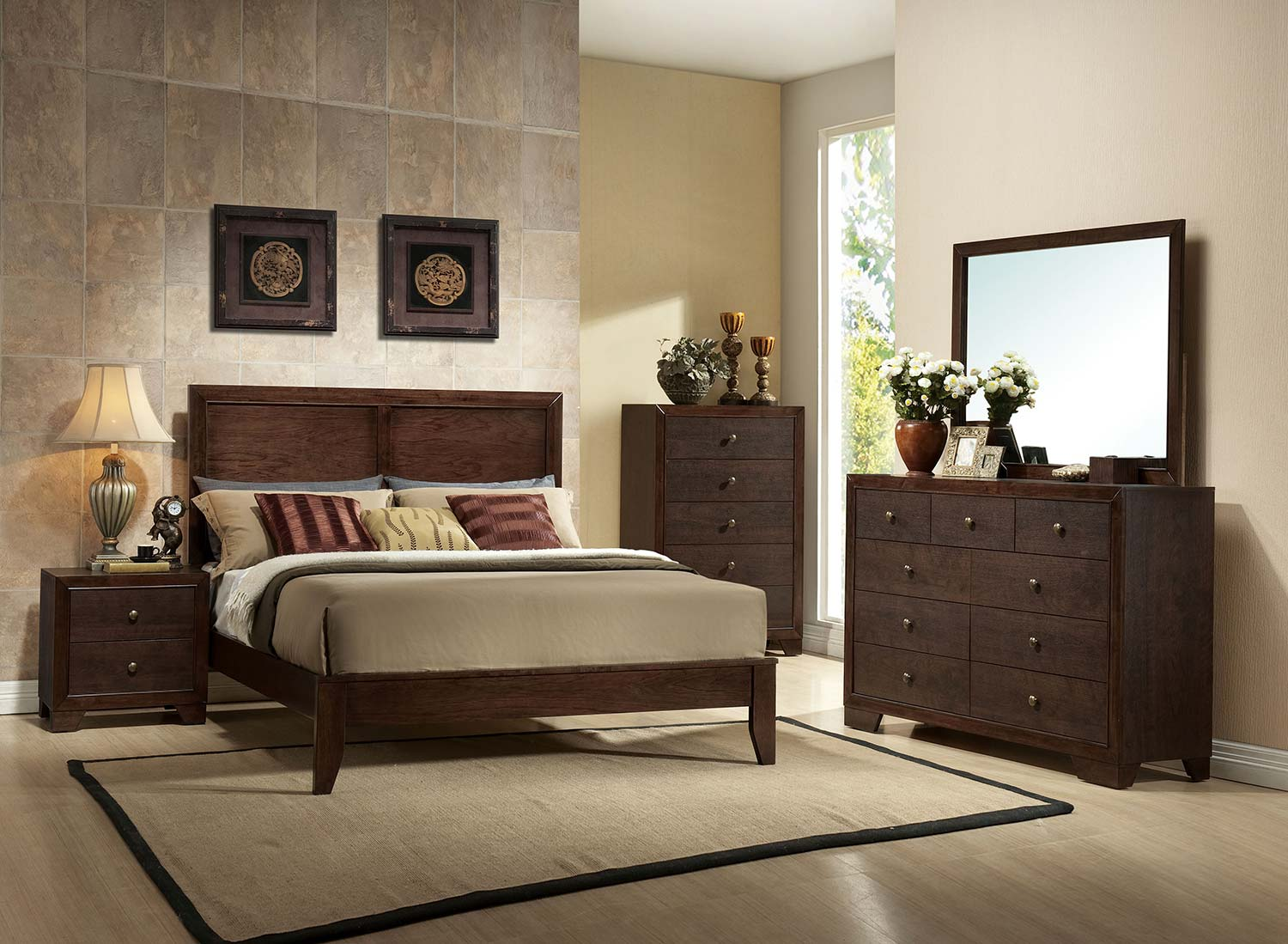 Acme Madison Bedroom Set - Espresso
