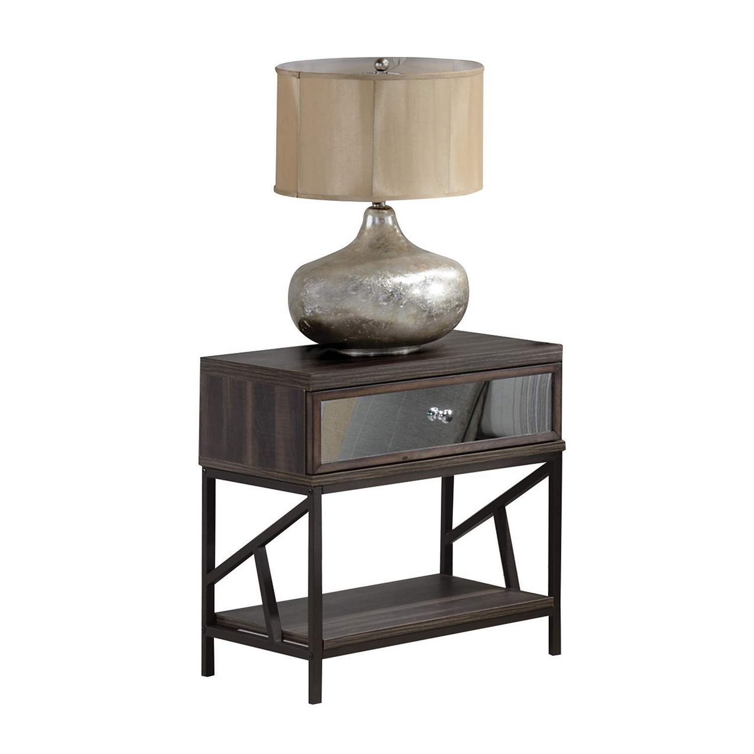 Acme Adrianna Nightstand - Walnut