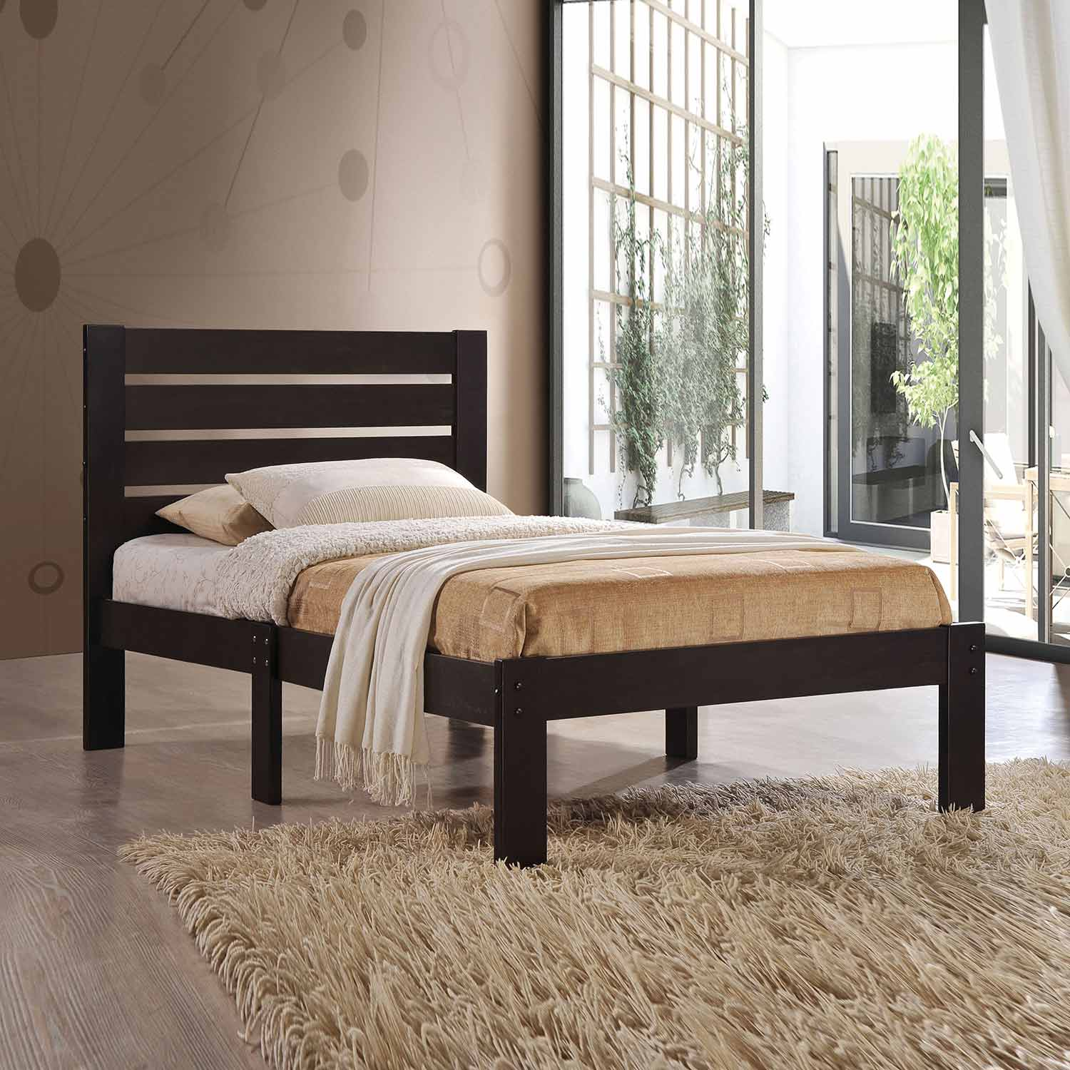 Acme Kenney Bed - Espresso