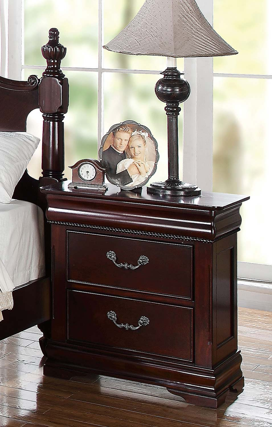 Acme Gwyneth Nightstand - Cherry