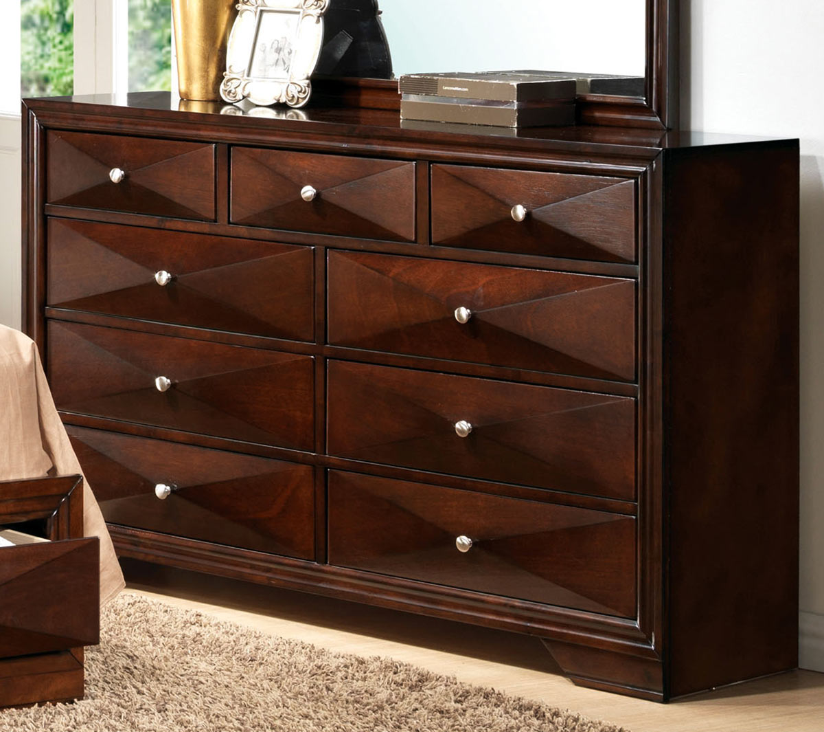 Acme Windsor Dresser - Merlot