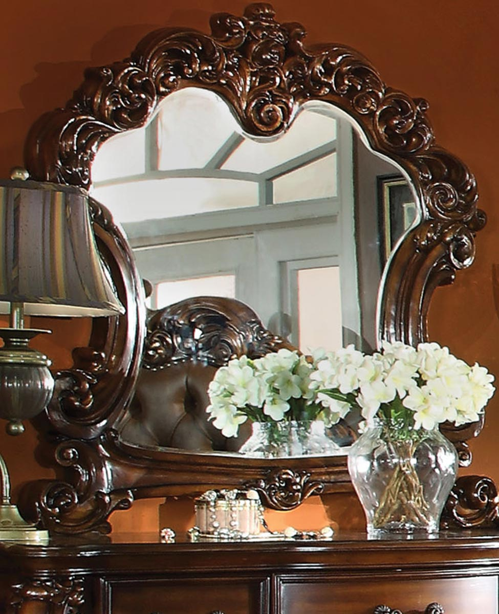 Acme Vendome Mirror - Cherry
