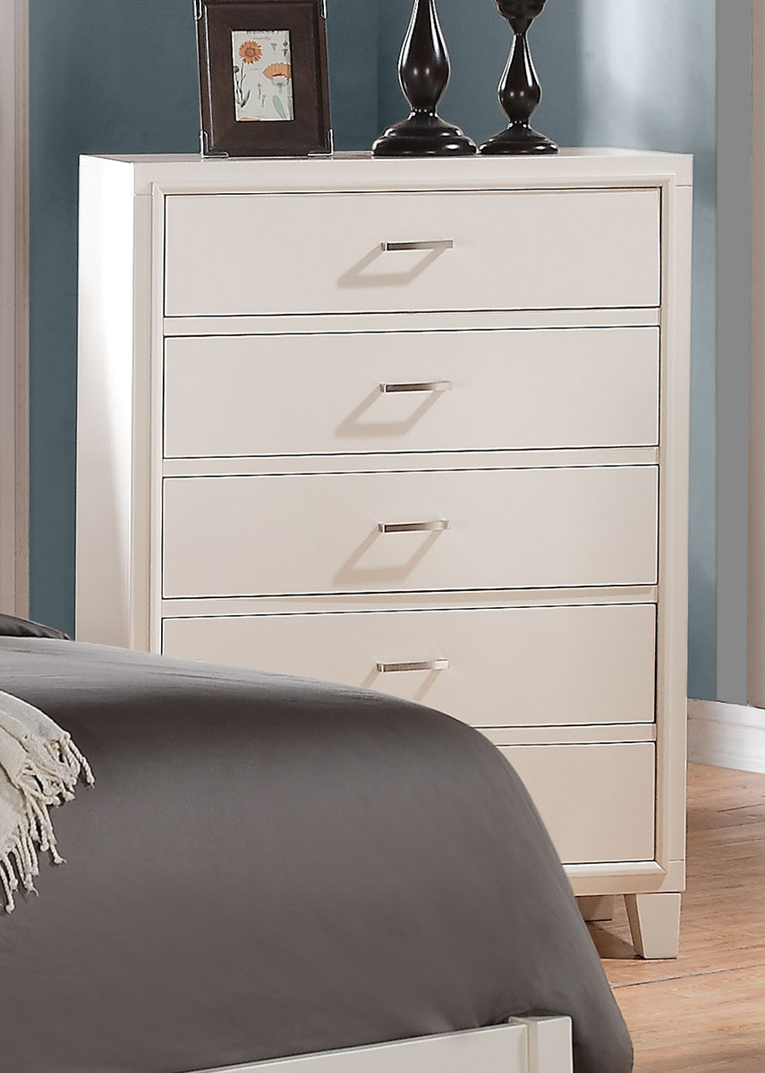 Acme Tyler Chest - White