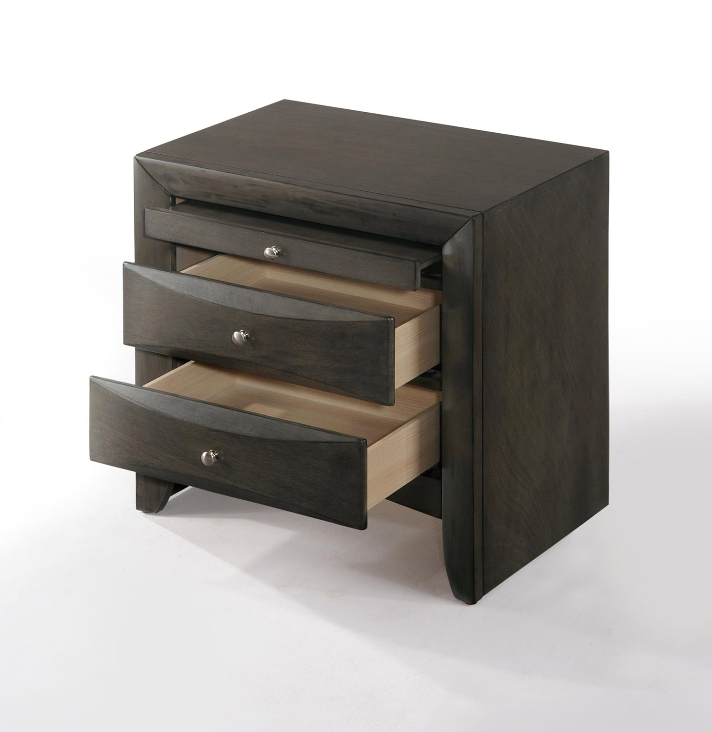 Acme Ireland Nightstand - Gray Oak