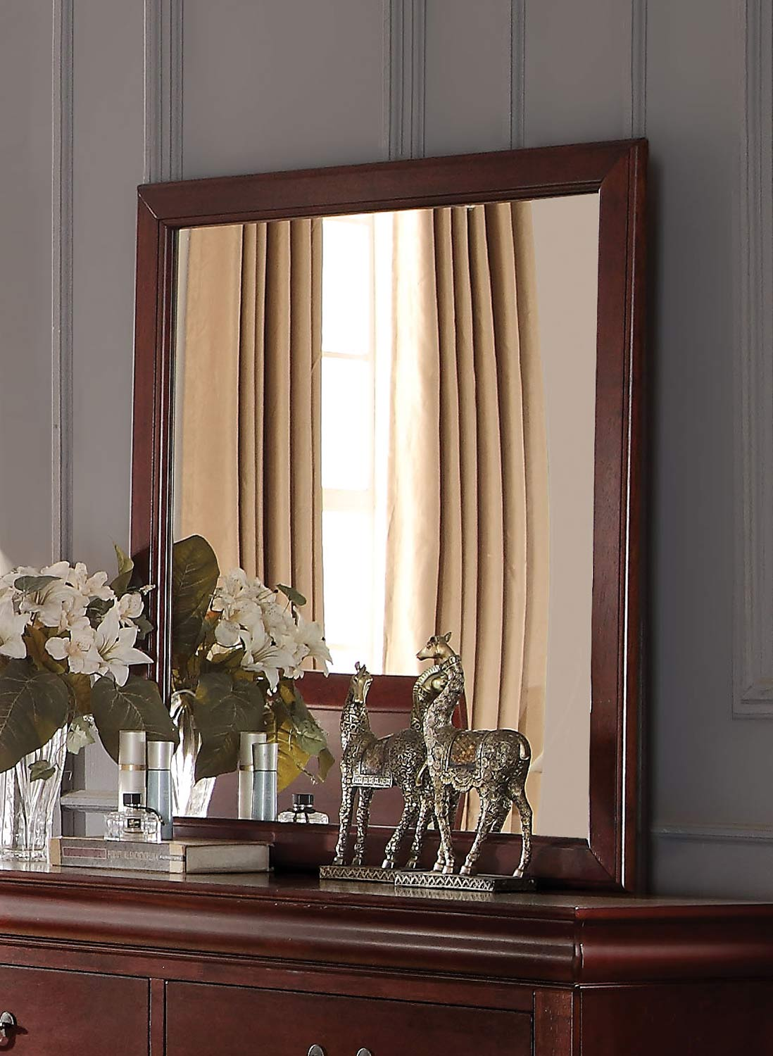 Acme Louis Philippe Mirror - Cherry