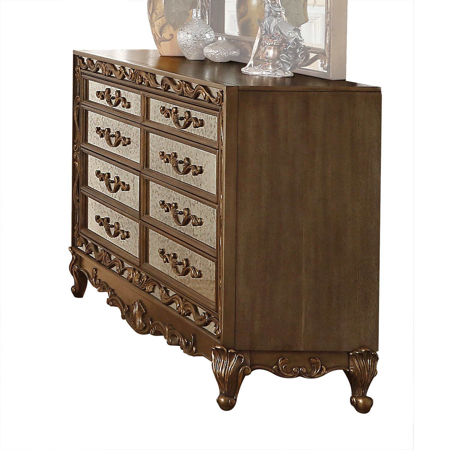 Acme Orianne Dresser - Antique Gold
