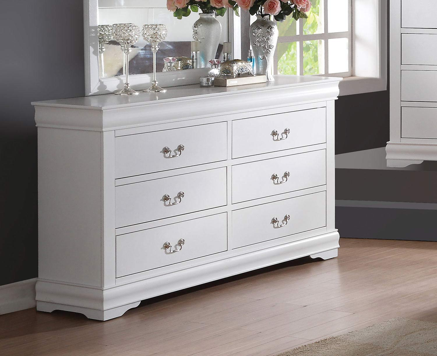 Acme Louis Philippe Dresser - White