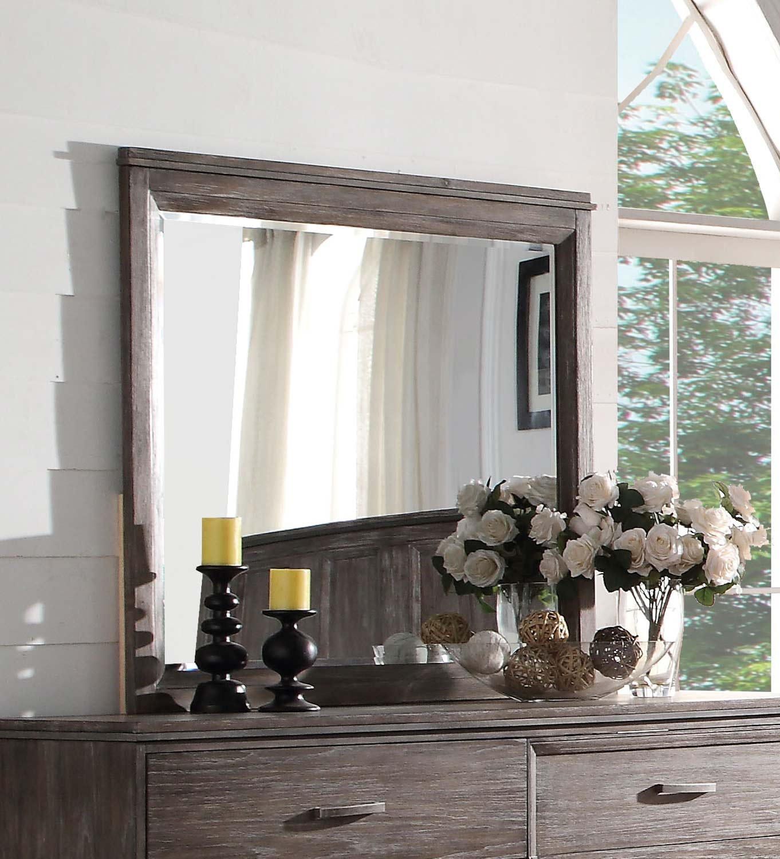 Acme Bayonne Mirror - Burnt Oak