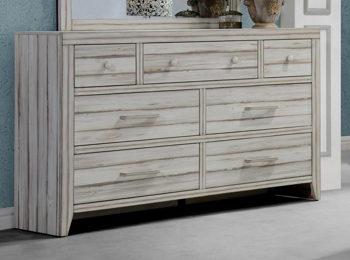 Acme Shayla Dresser - Antique White