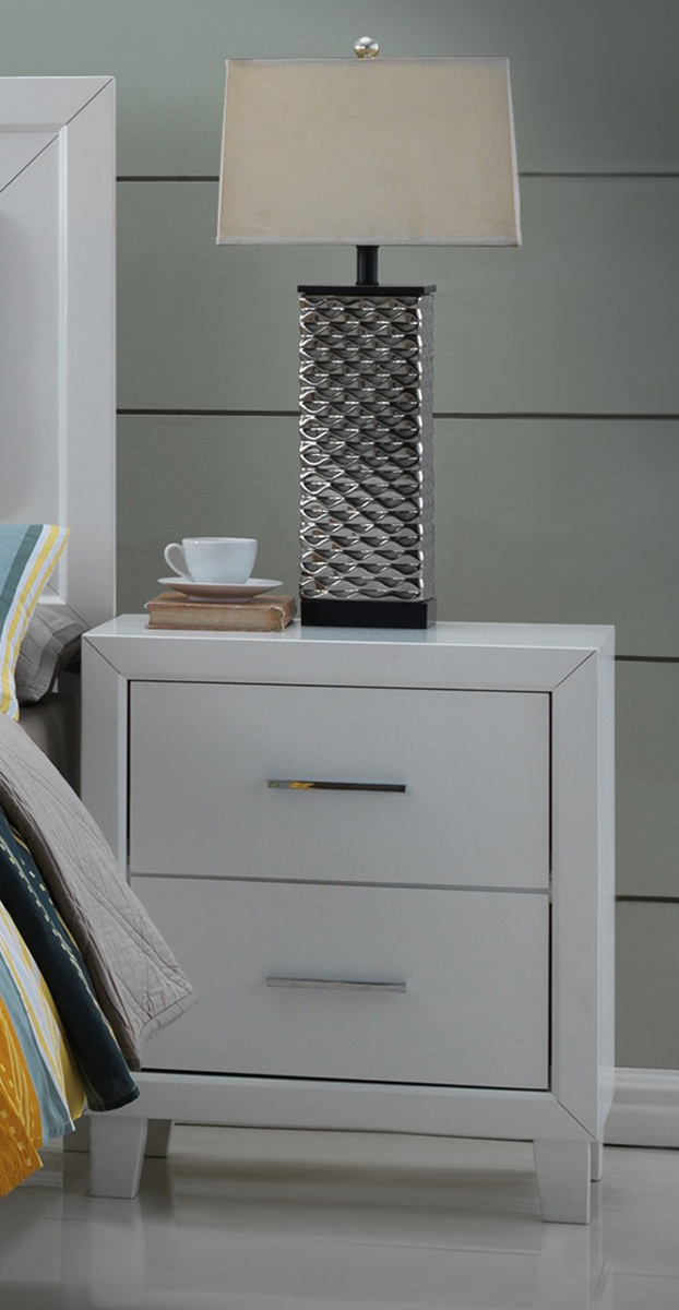 Acme Switzer Nightstand - White