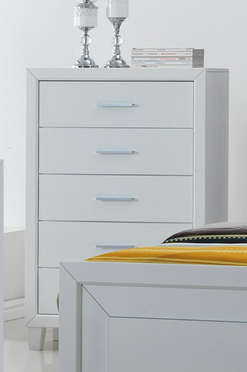 Acme Switzer Chest - White