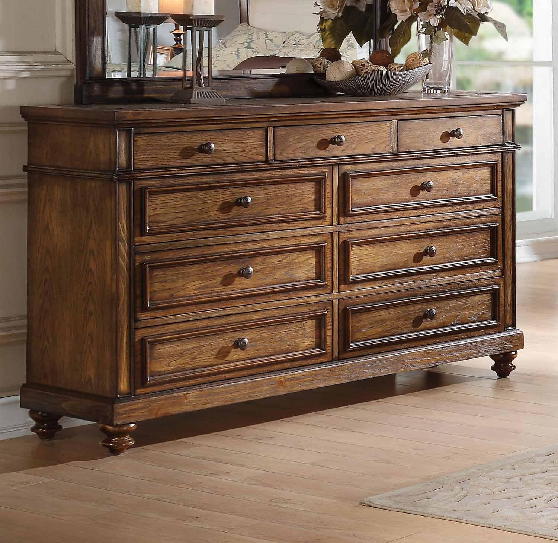 Acme Arielle Dresser - Slate/Oak