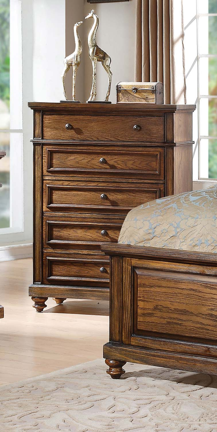 Acme Arielle Chest - Slate/Oak