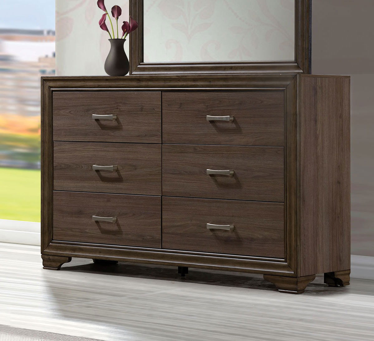 Acme Cyrille Dresser - Walnut