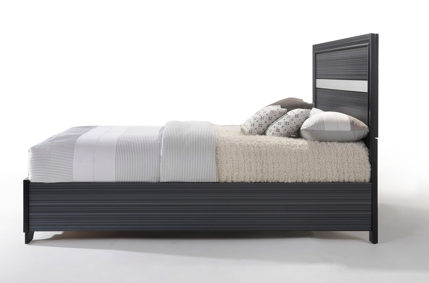 Acme Naima Bed with Storage - Black