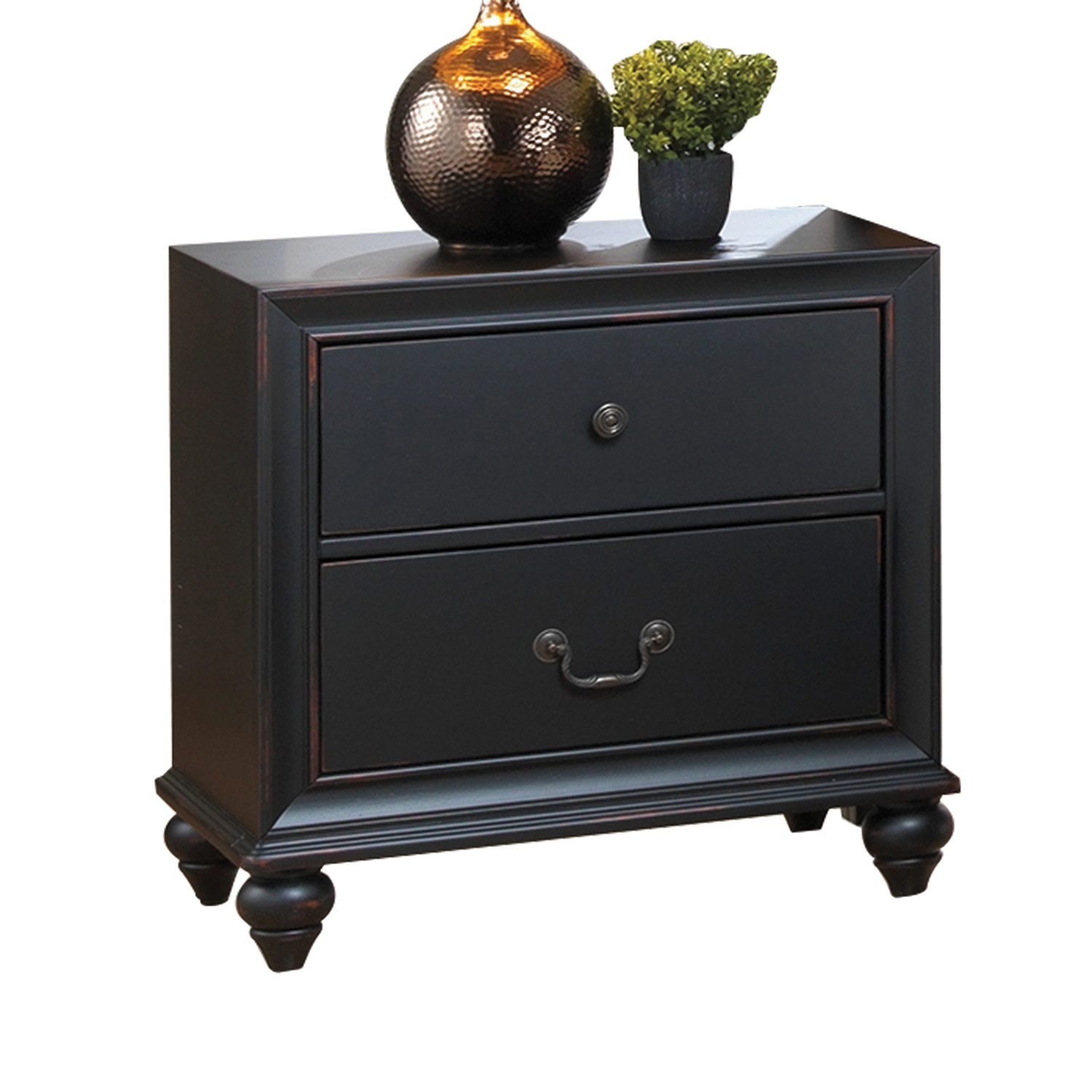 Acme Edwige Nightstand - Black