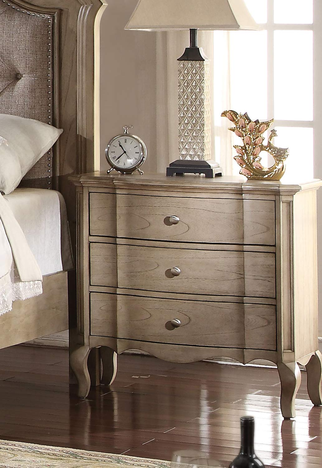 Acme Chelmsford Nightstand - Antique Taupe