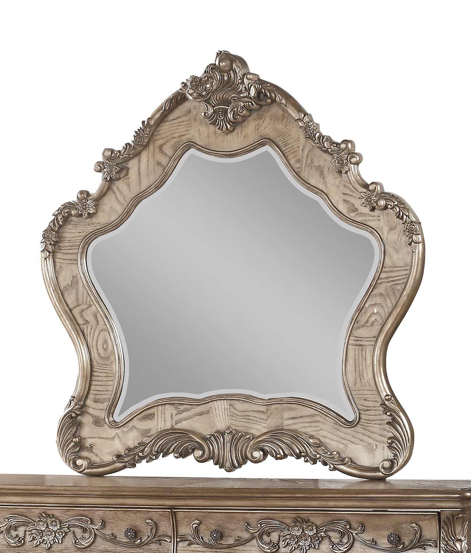 Acme Ragenardus Mirror - Vintage Oak