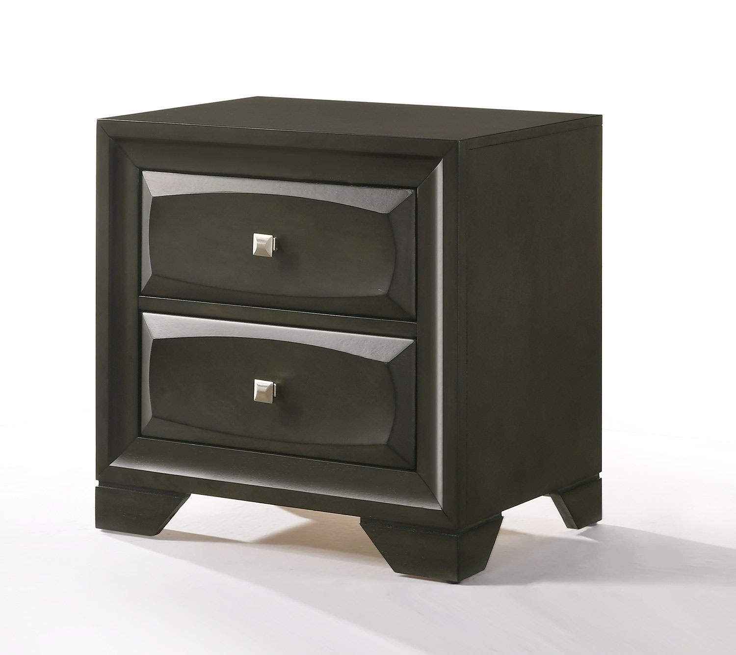 Acme Soteris Nightstand - Antique Gray