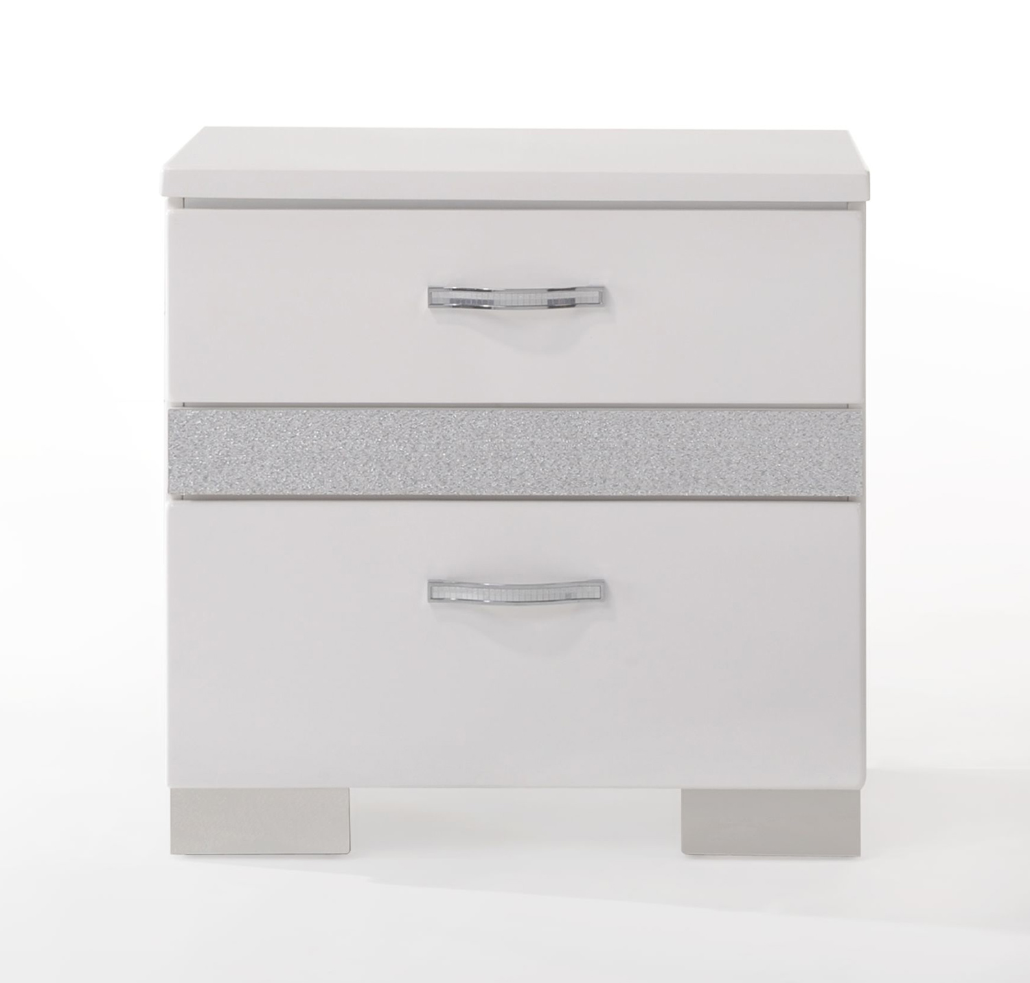 Acme Naima II Nightstand - White (High Gloss)
