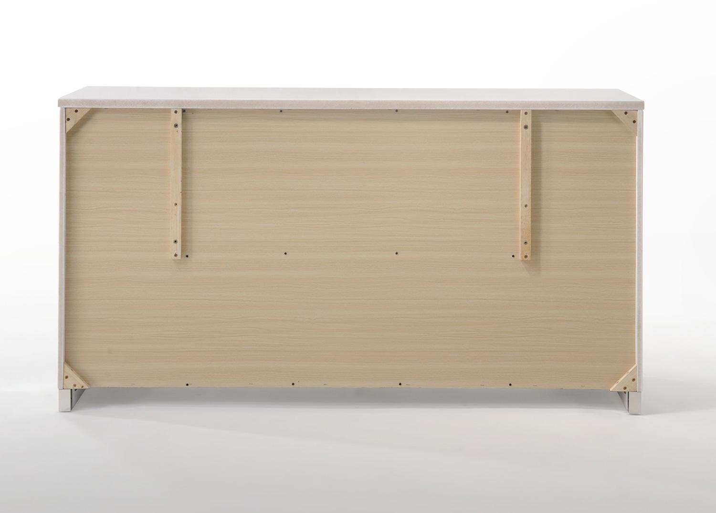 Acme Naima II Dresser - White (High Gloss)