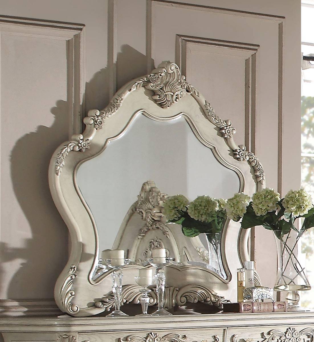 Acme Ragenardus Mirror - Antique White