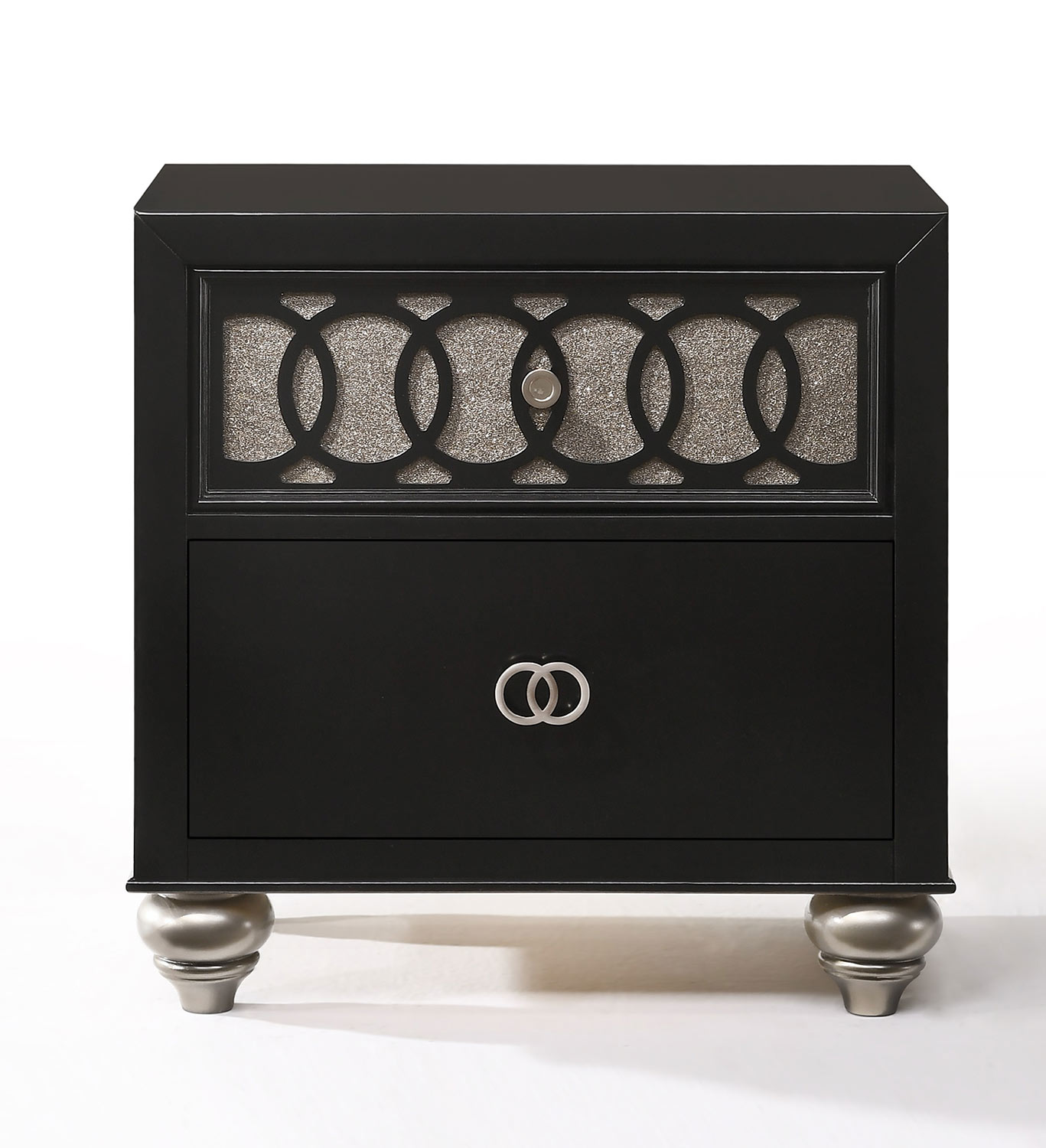 Acme Ulrik Nightstand - Black