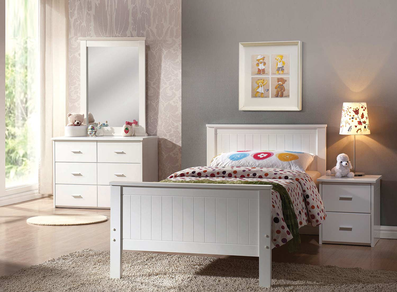 Acme Bungalow Bedroom Set - White
