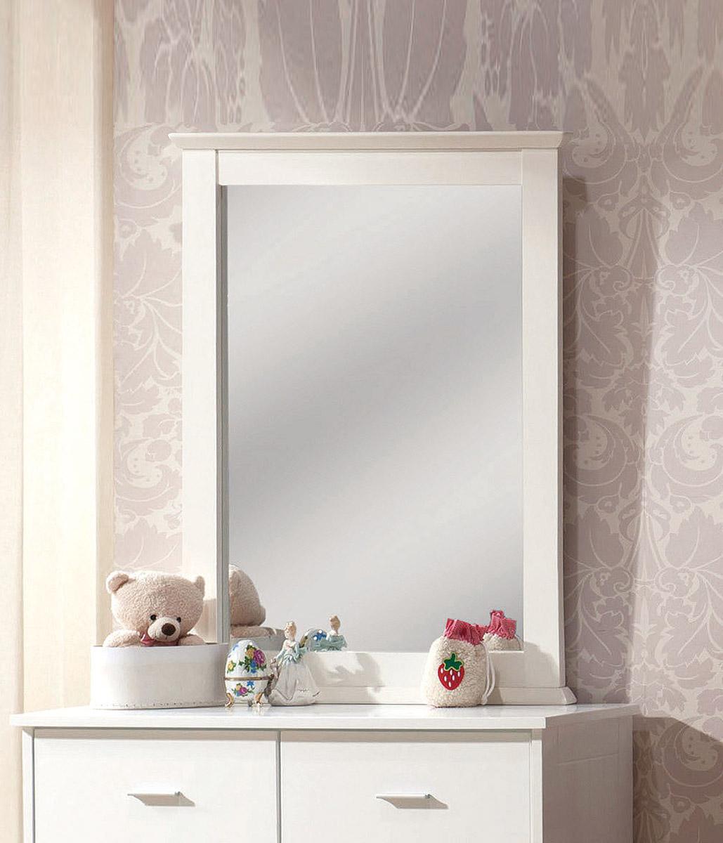 Acme Bungalow Mirror - White