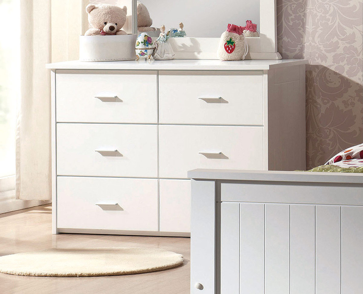 Acme Bungalow Dresser - White