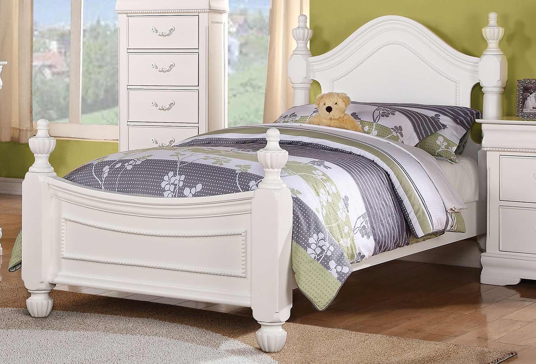 Acme Classique Bed - White