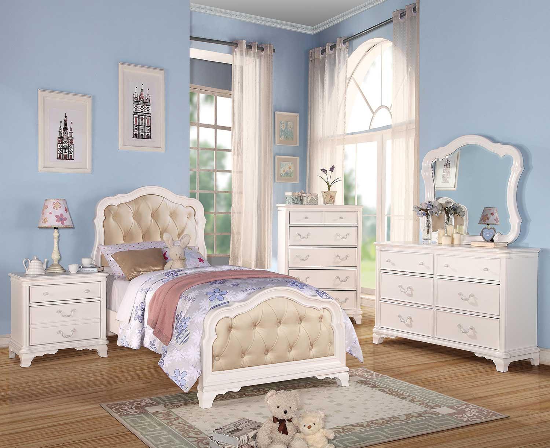 Acme Ira Bedroom Set - White