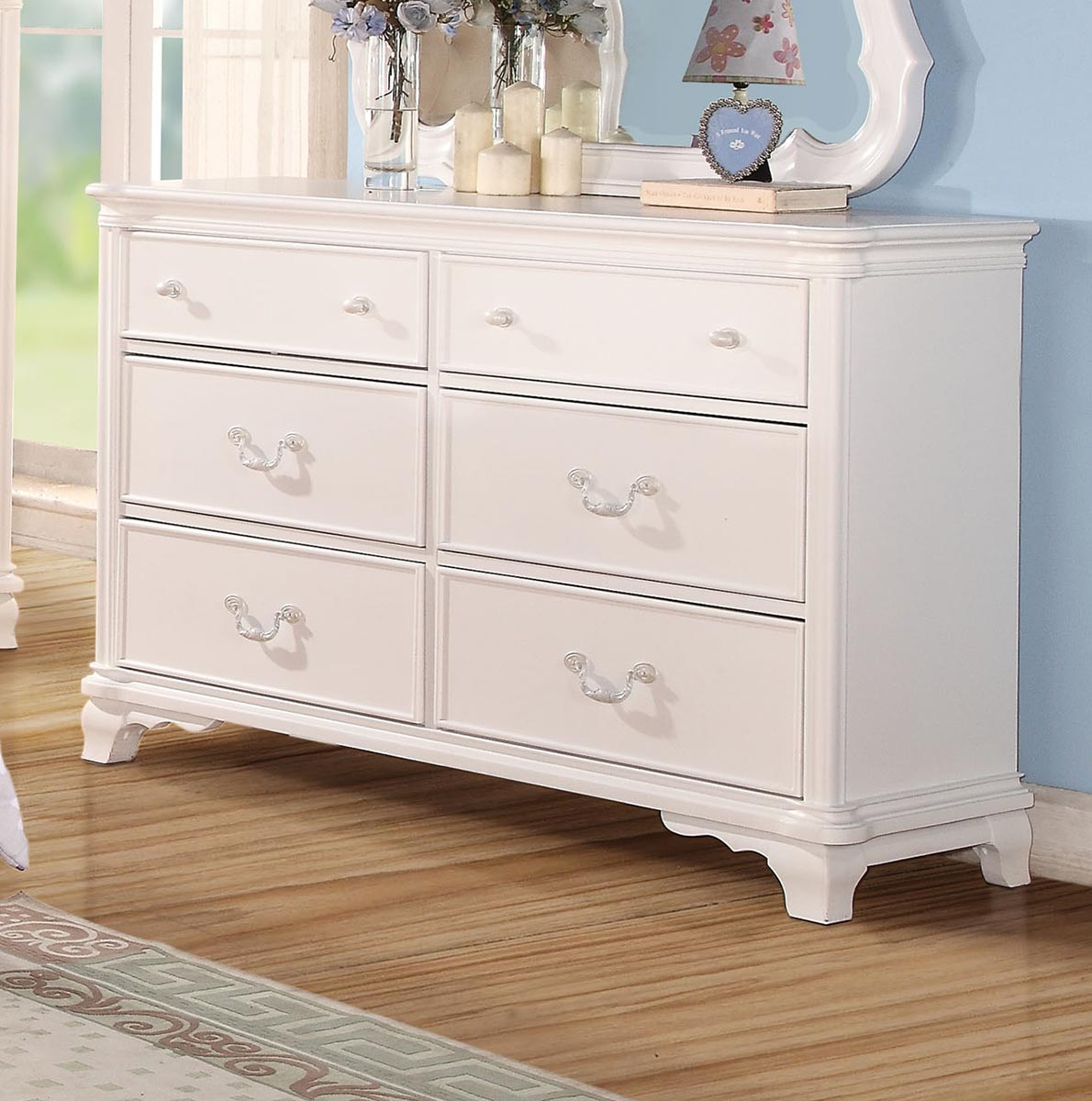 Acme Ira Dresser - White