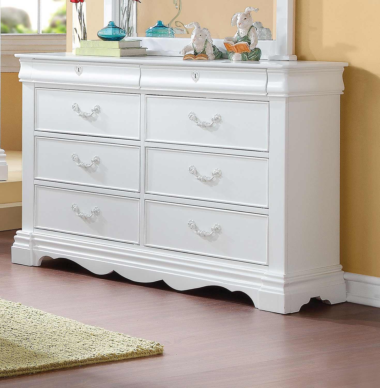 Acme Estrella Dresser - White
