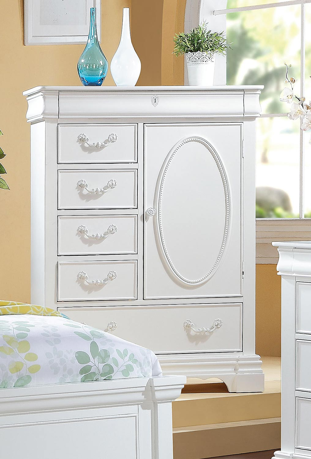 Acme Estrella Chest - White