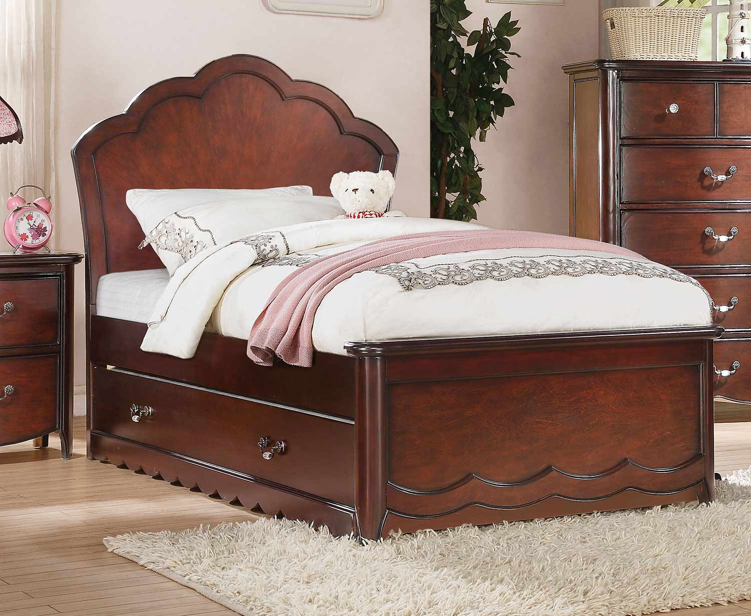 Acme Cecilie Bed - Cherry