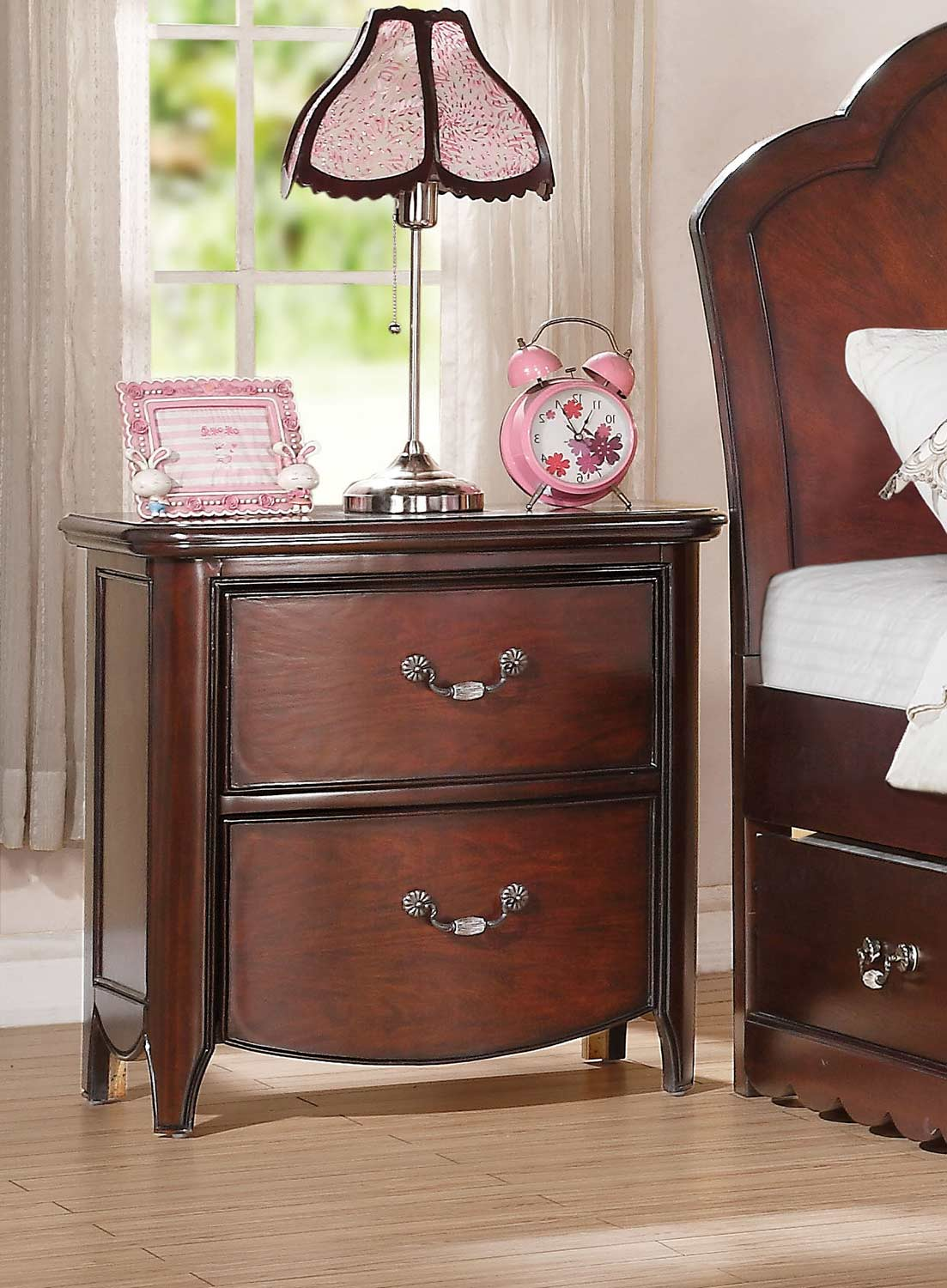 Acme Cecilie Nightstand - Cherry