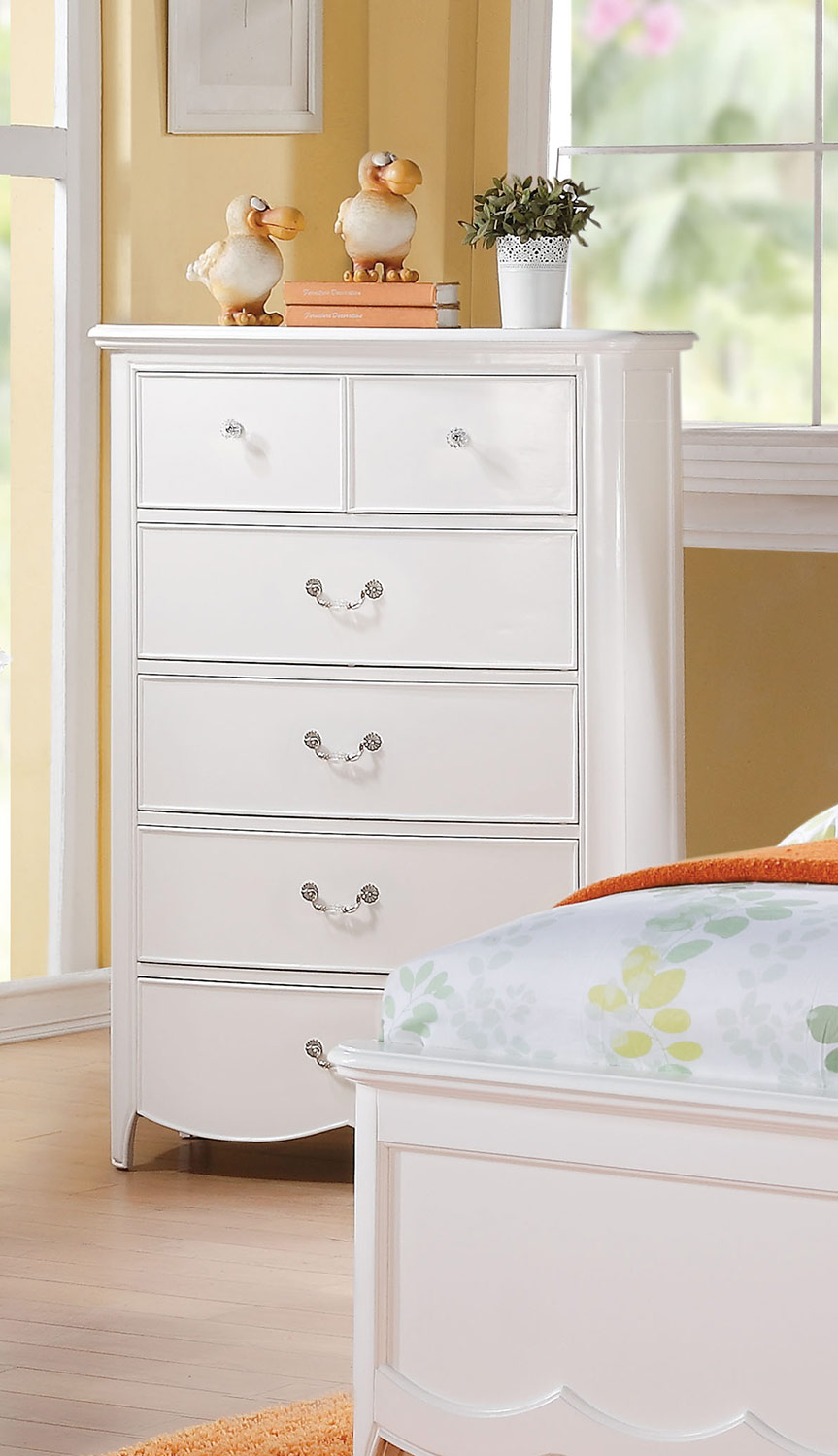 Acme Cecilie Chest - White
