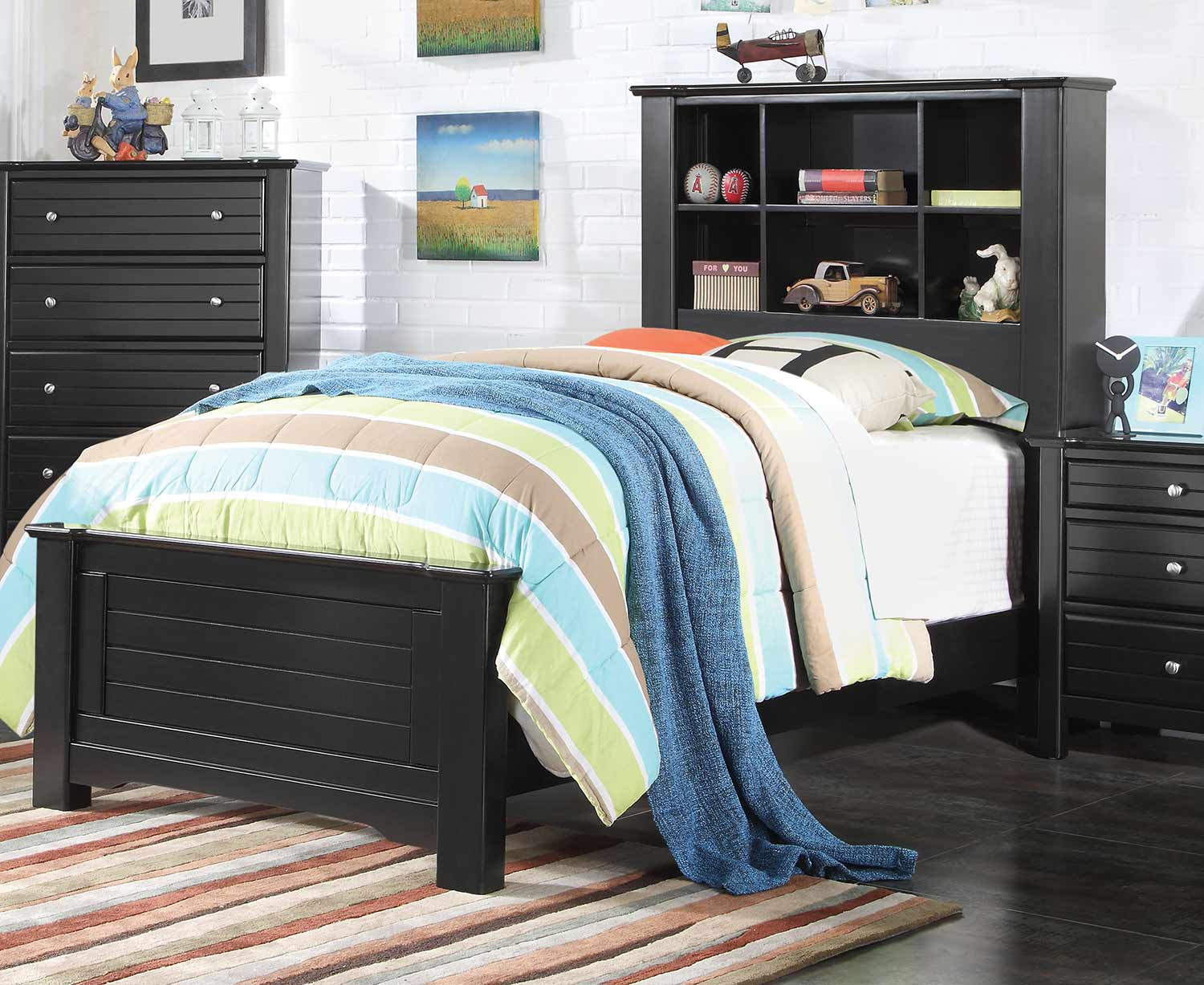 Acme Mallowsea Bed - Black