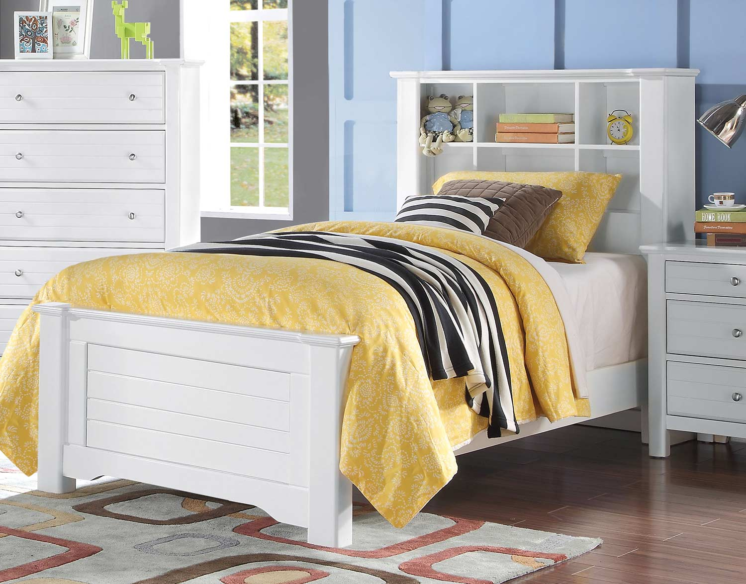 Acme Mallowsea Bed - White