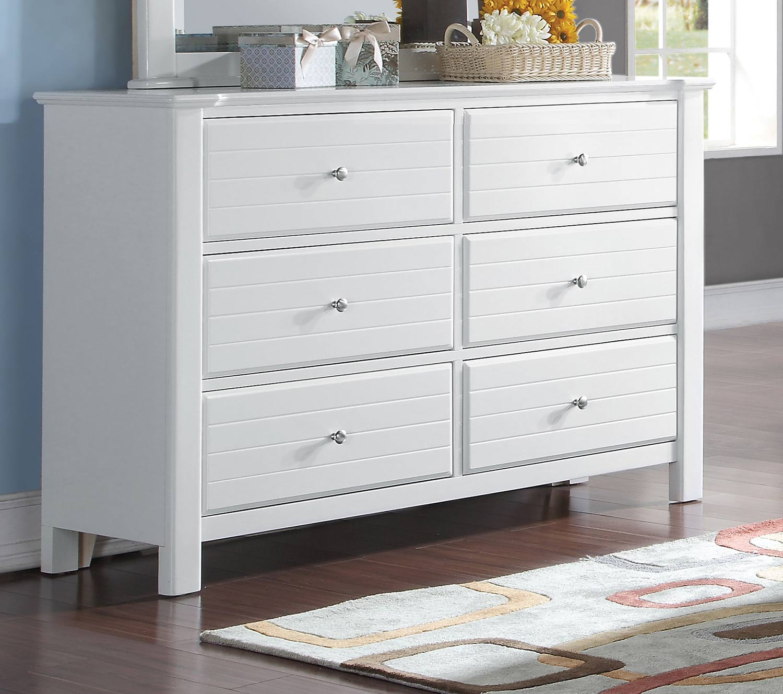 Acme Mallowsea Dresser - White