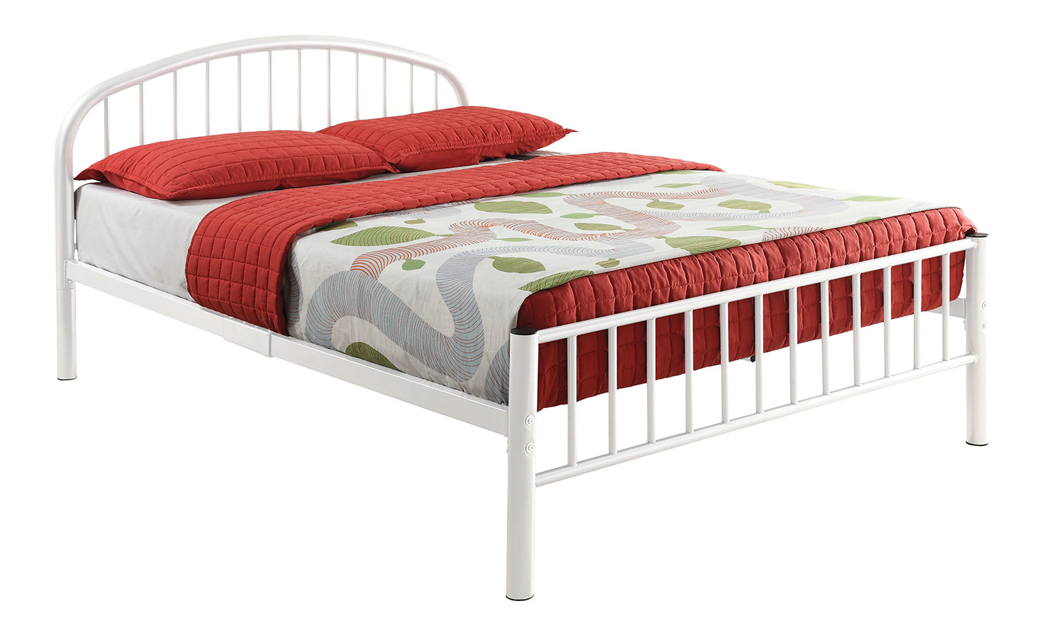 Acme Cailyn Bed - White