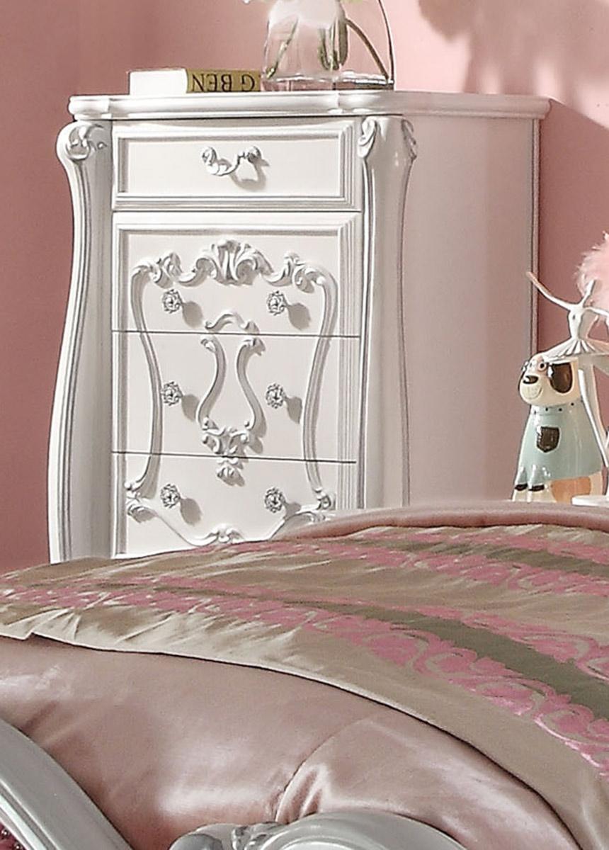 Acme Versailles Chest - Antique White