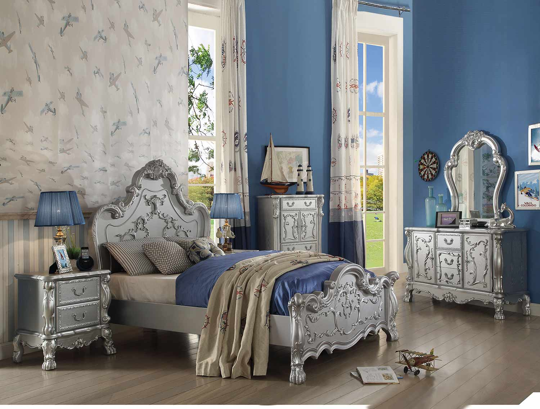 Acme Dresden Bedroom Set - Silver